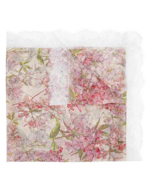 Faliero Sarti フローラル スカーフ Pink