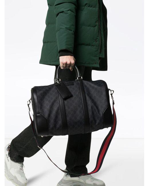 Lyst - Sac fourre-tout Suprême GG Gucci pour homme en coloris Noir ... 2cb0581348c