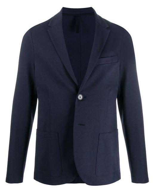 メンズ Harris Wharf London テーラード ジャケット Blue