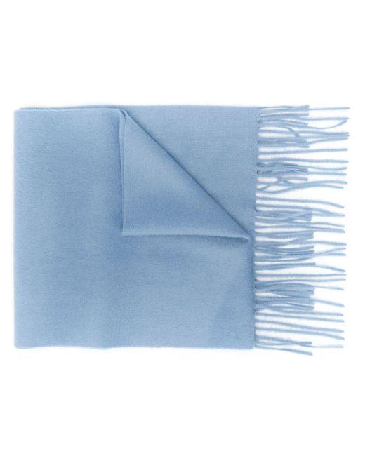 Mulberry カシミア スカーフ Blue