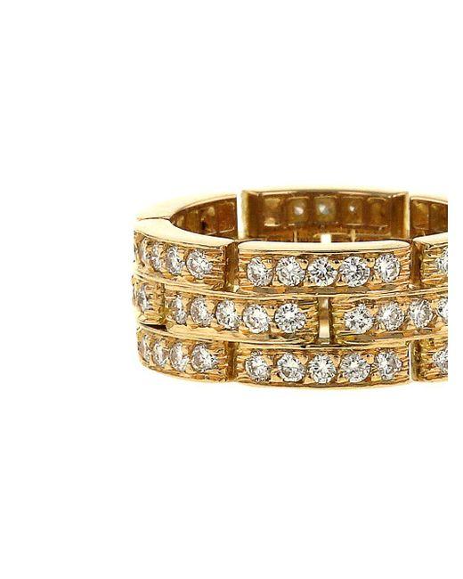 Cartier プレオウンド Maillon Panthère ダイヤモンド ネックレス 18kゴールド Metallic