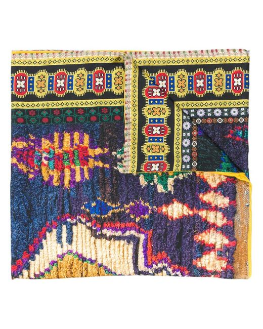 Pierre Louis Mascia Aloewon プリント スカーフ Multicolor