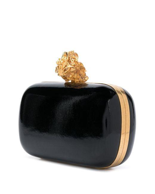 Клатч С Декором Skull Alexander McQueen, цвет: Black