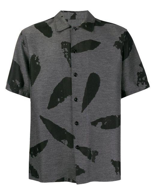 Рубашка На Пуговицах AMI для него, цвет: Black