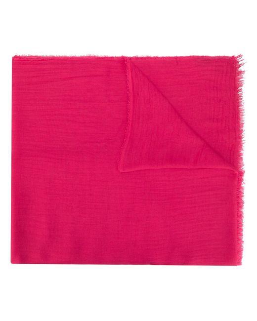Faliero Sarti フレイド スカーフ Pink