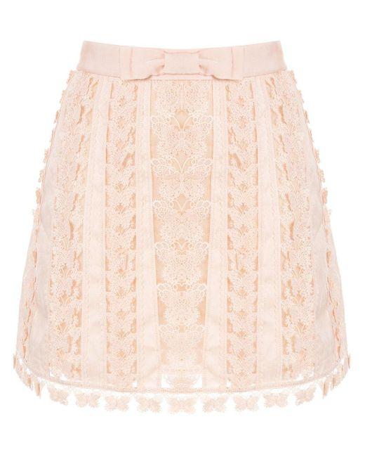 Zimmermann Super Eight ミニスカート Pink