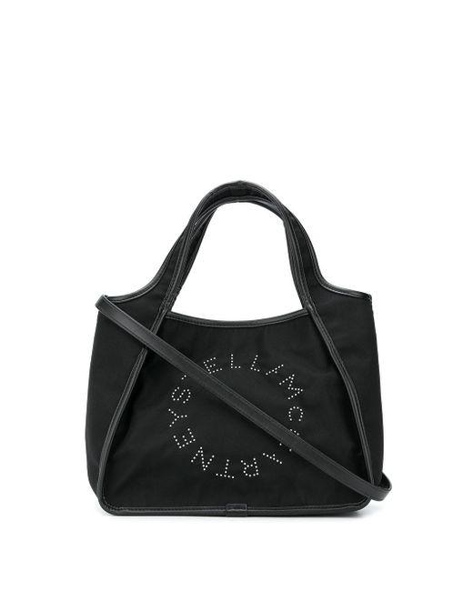 Stella McCartney ロゴ ハンドバッグ Black