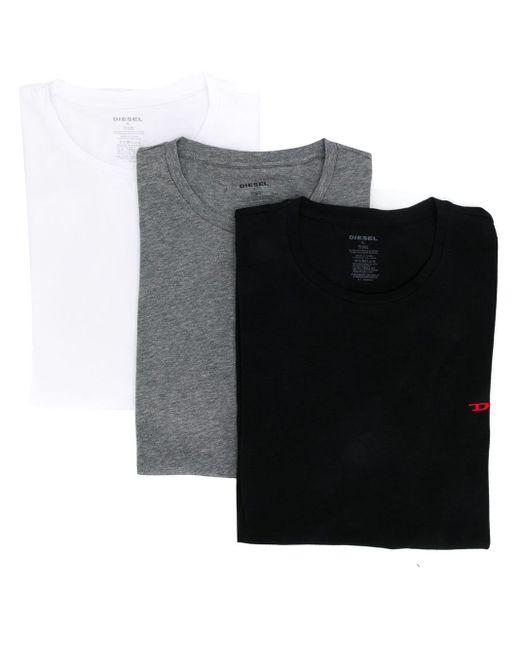 メンズ DIESEL ロゴ Tシャツセット Multicolor