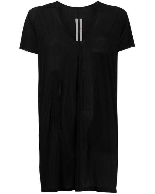 Rick Owens オーバーサイズ Tシャツ Black