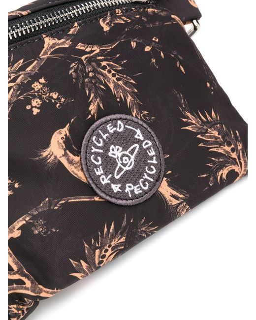 メンズ Vivienne Westwood マルチポケット ベルトバッグ Black