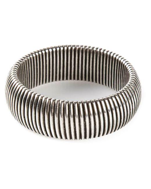 Janis Savitt Metallic Wide 'cobra' Bracelet