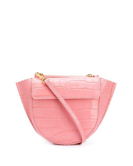 Wandler Hortensia ハンドバッグ ミニ Pink