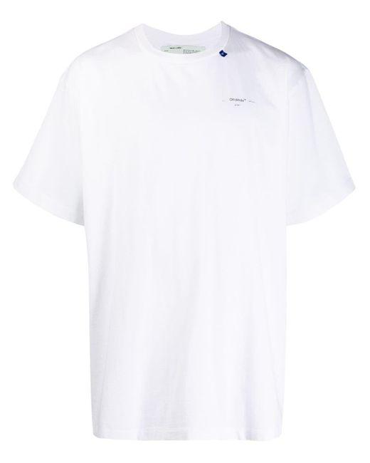 メンズ Off-White c/o Virgil Abloh ショートスリーブ Tシャツ White