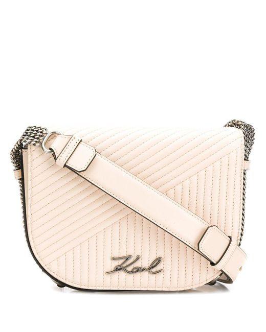 Karl Lagerfeld K/signature キルティング ショルダーバッグ Multicolor