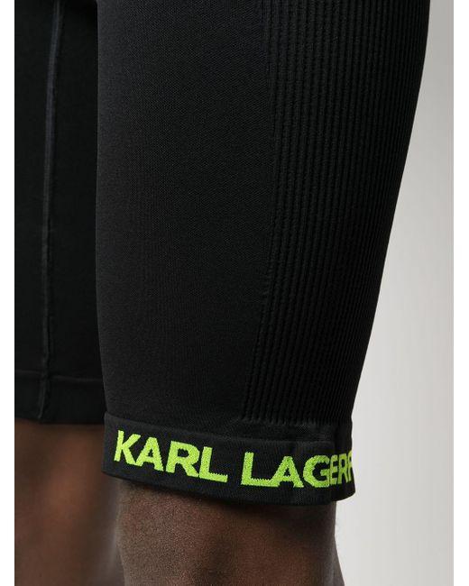 メンズ Karl Lagerfeld サイクリングショーツ Black