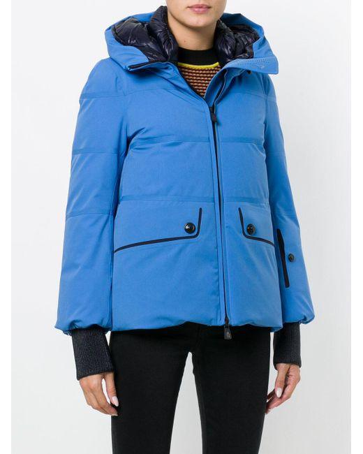 moncler grenoble amneville jacket in blue lyst. Black Bedroom Furniture Sets. Home Design Ideas