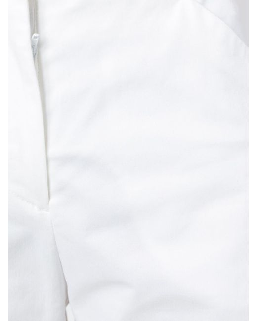 Maison Margiela クラシック ワイドパンツ White