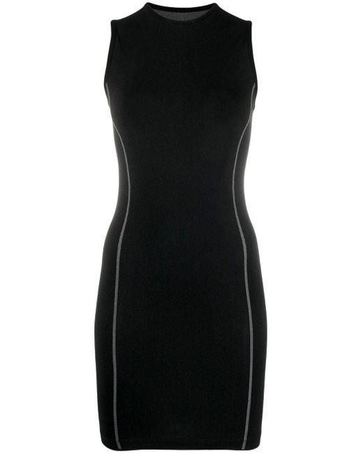 Robe Periodic à design sans manches Heron Preston en coloris Black