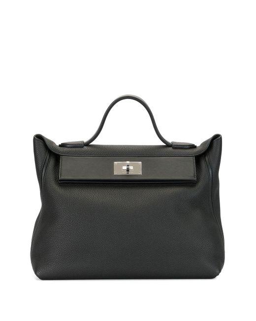 Сумка-тоут Sac Van Cattle 35 2019-го Года Hermès, цвет: Black