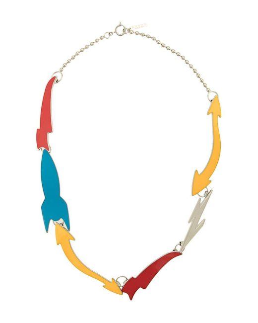 Marni Halsketting Met Colourblocking in het Multicolor voor heren