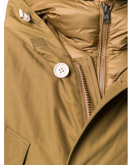 Пуховик С Длинными Рукавами Woolrich для него, цвет: Brown