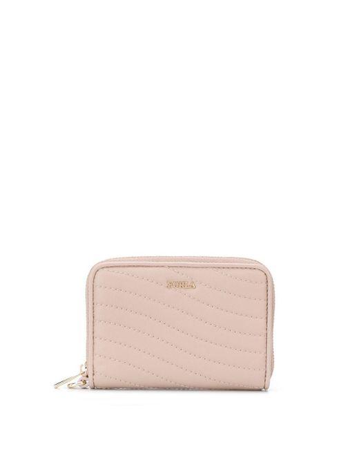 Furla Mini Swing 財布 Pink
