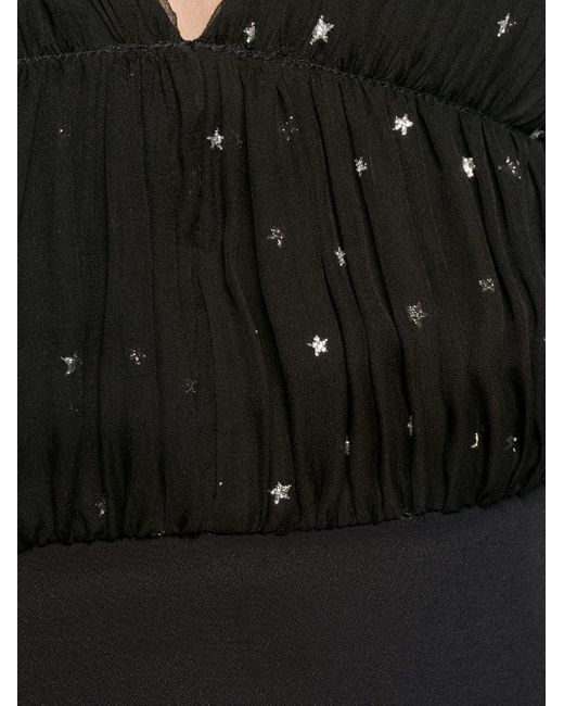 Ruched-bodice Dress N°21, цвет: Black