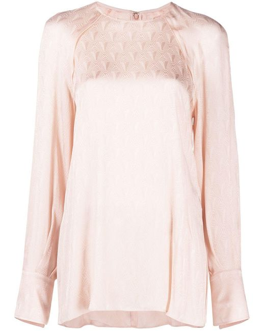 Victoria, Victoria Beckham ロゴ ロングtシャツ Pink