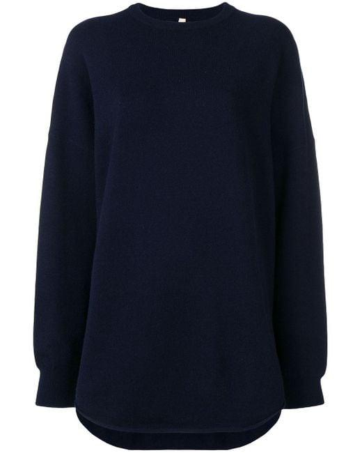 Extreme Cashmere ラウンドネックセーター Blue