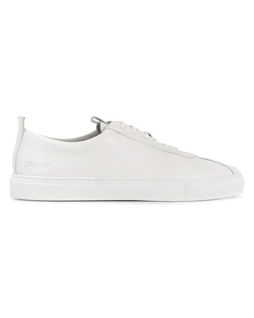 GRENSON - White Sneaker 1 Low Tops - Lyst