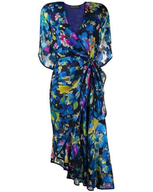 Etro フローラル ドレス Blue