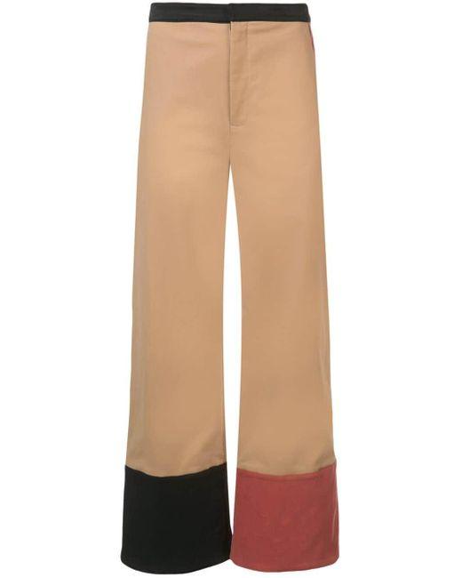 Rosie Assoulin コントラスト パンツ Multicolor