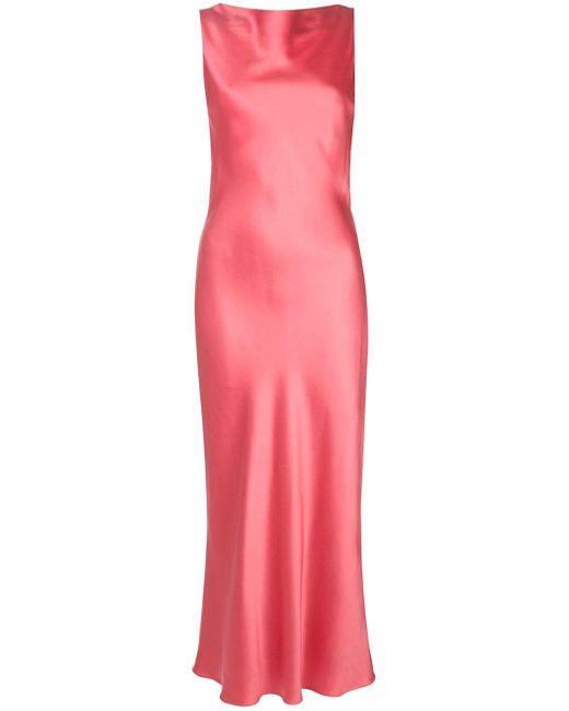 Jason Wu サテン ドレス Pink