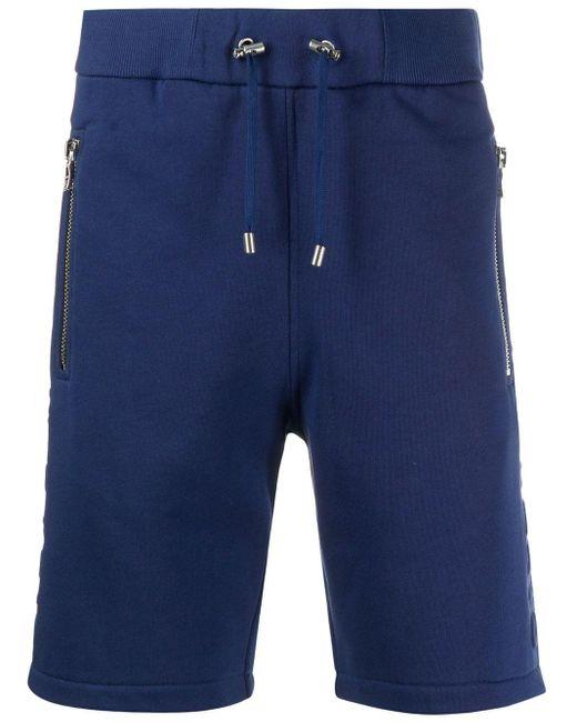 メンズ Balmain スウェットショーツ Blue