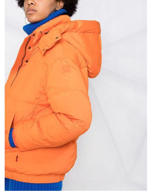 Woolrich フーデッド パデッドジャケット Orange