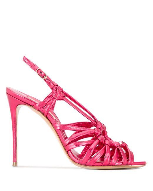 Casadei ストラップ サンダル Pink