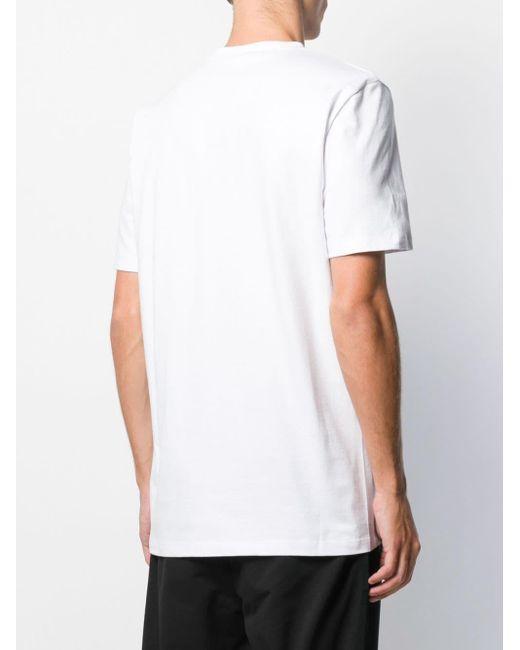 メンズ John Richmond スパンコール Tシャツ White