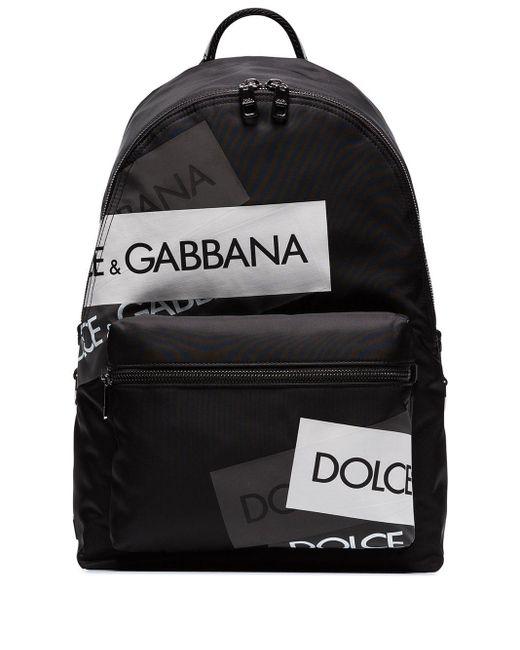 メンズ Dolce & Gabbana Vulcano バックパック Black