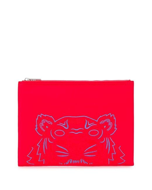 65d11586 Men's Red Tiger Clutch