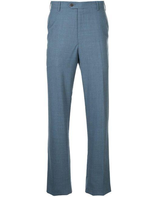 メンズ Gieves & Hawkes テーラードパンツ Blue