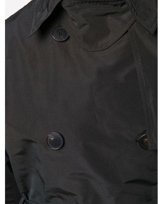 Двубортный Тренч Без Рукавов Givenchy, цвет: Black