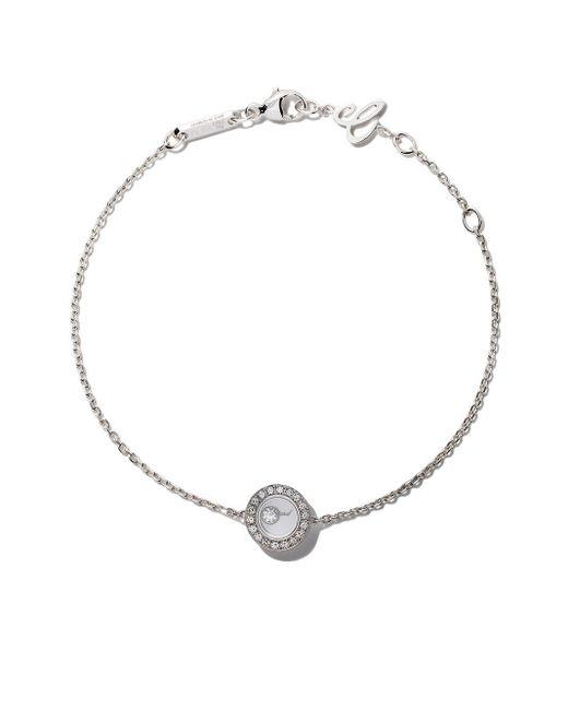Chopard Multicolor 18kt White Gold Happy Diamonds Icons Bracelet