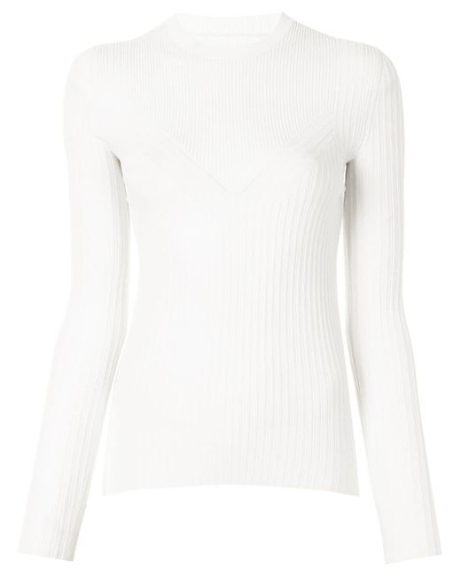 PROENZA SCHOULER WHITE LABEL リブニット セーター White