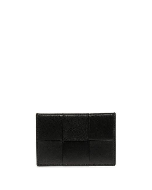 Bottega Veneta イントレチャート カードケース Black