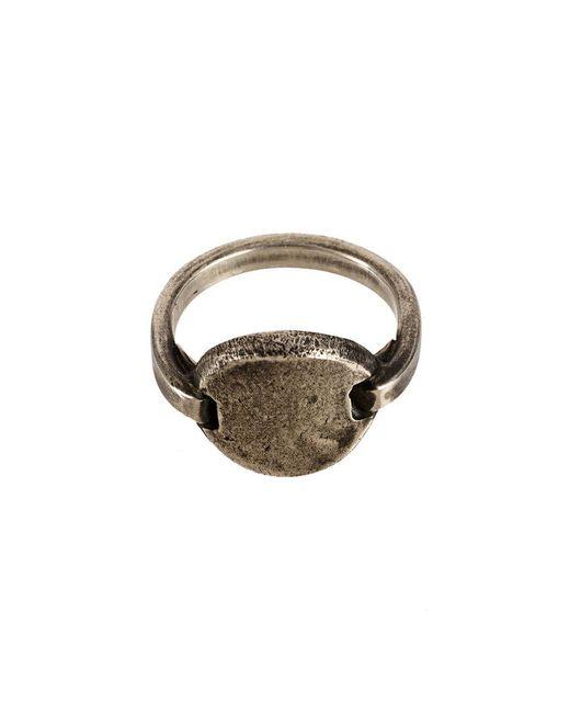 Werkstatt:münchen - Metallic Round Tag Ring - Lyst