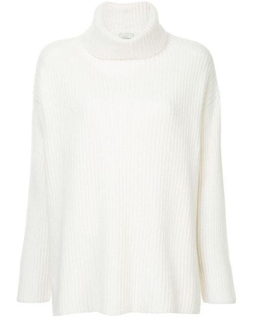 Le Kasha タートルネックセーター White