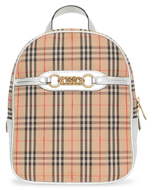 Burberry 1983 チェック リンク バックパック L Multicolor