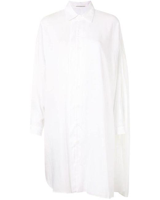 Yohji Yamamoto ロングライン シャツ White