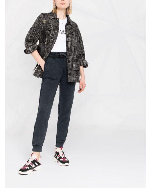 Pantalones de chándal con logo Pinko de color Black