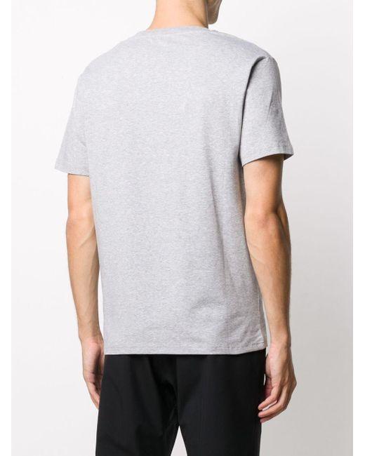 メンズ Moschino スローガン Tシャツ Gray